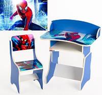 """*Набор мебели - Парта и стульчик """"Человек Паук"""" арт. 110"""