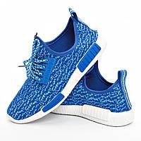 Кроссовки Гипанис женские синие на шнурках, фото 1