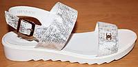 Женские кожаные босоножки персик, босоножки женские кожа от производителя модель ВЛ1703П