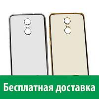 Чехол-бампер TPU с цветным ободком для Xiaomi Redmi Note 3 (Сяоми (Ксиаоми, Хиаоми) Редми Ноте 3, Редми Ноте 3 про, Редми Ноут 3, Редми Ноут 3 про)