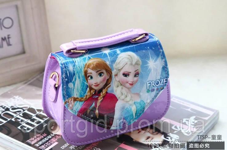021f2e449533 Стильная сумочка для девочки Анна и Эльза /детская сумочка: продажа ...