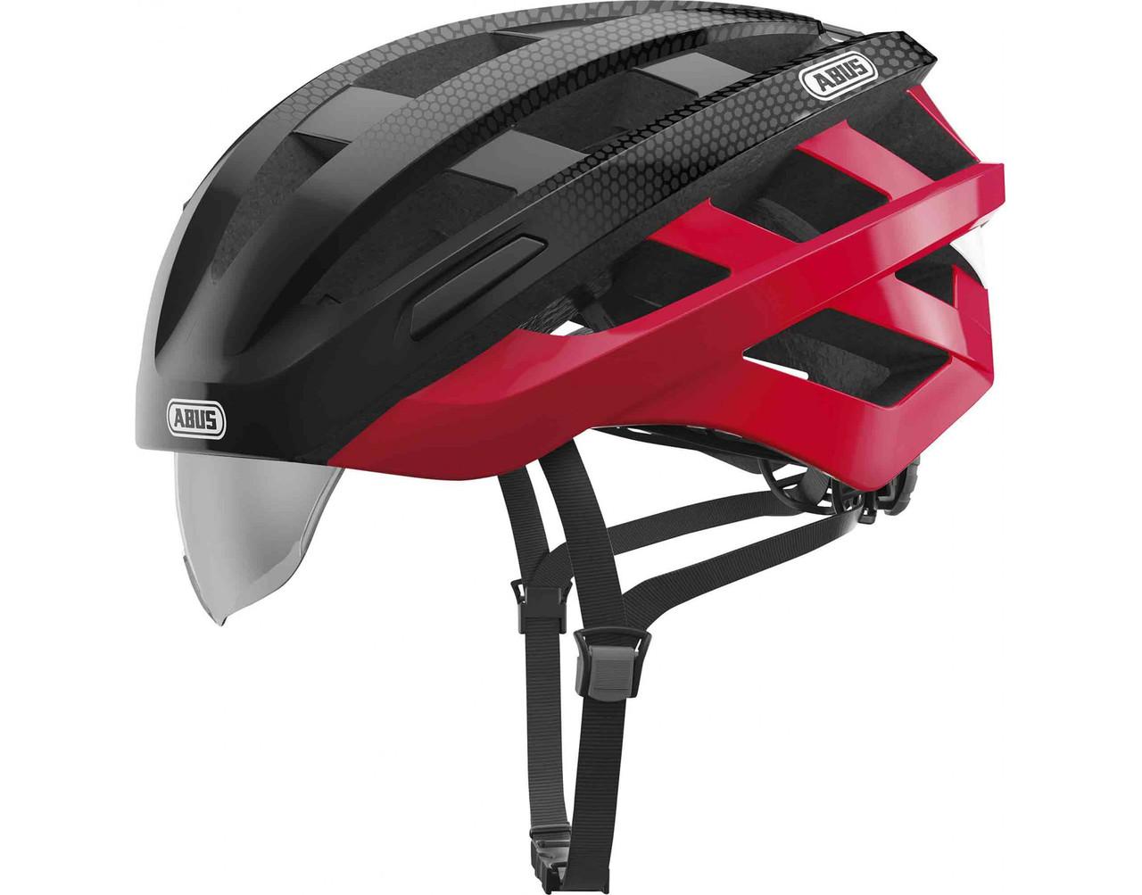 Велошлем ABUS IN-VIZZ ASCENT Red Comb (М)