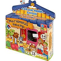 Магнітний театр Бичок смоляний-бочок VT3206-15 Vladi Toys