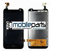 Оригинальный дисплей  (модуль) + сенсор (тачскрин) для HTC Desire 310 One Sim (128*63,5 мм) (черный)