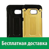 Защитный чехол Spigen для Samung Galaxy S7 Edge (ТПУ + пластик) (Самсунг с7 эдж, с 7 эдж)