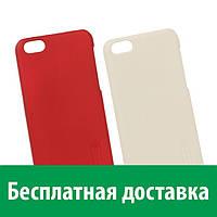 Чехол пластиковая накладка Nillkin для Apple iPhone 5c + защитная пленка Nillkin (Айфон 5си, 5 си)