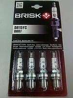 Свечи Brisk DR15YC-1 (16кл./инжект.)