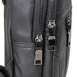 Кожаный рюкзак-сумка 4004A, фото 7