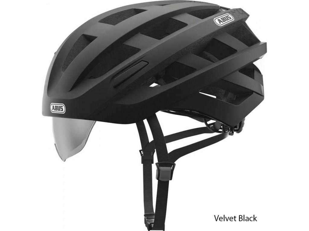 Велошлем ABUS IN-VIZZ ASCENT Velvet Black (L)