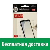Защитная пленка MyScreen Lite Crystal для Fly IQ453 (глянцевая) (Флай iq 453, айкью 453 квад люминор)