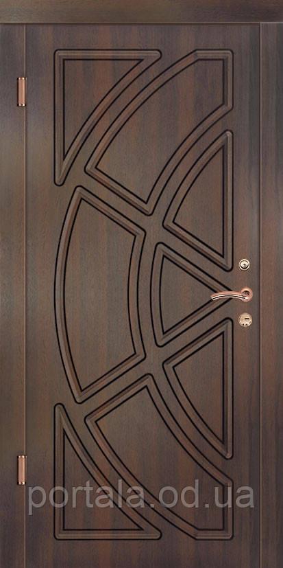"""Вхідні двері для вулиці """"Портала"""" (Комфорт Vinorit) ― модель Магнолія"""