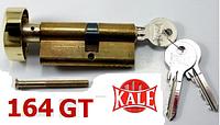 Цилиндр замка  Kale 164 GT 68 мм латунь