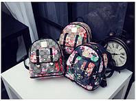 Мини рюкзак с цветами под Gucci