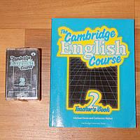 Новый учебник английского языка Кембридж + 5 аудио-кассет Cambridge English Course, фото 1