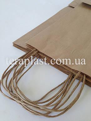 Пакет бумажный с печатью 250х150х350 печать 1+0, фото 2