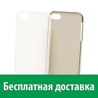 Чехол-бампер TPU для Apple iPhone 5/5s (полупрозрачный) (Айфон 5, 5с, 5 с, 5 се)