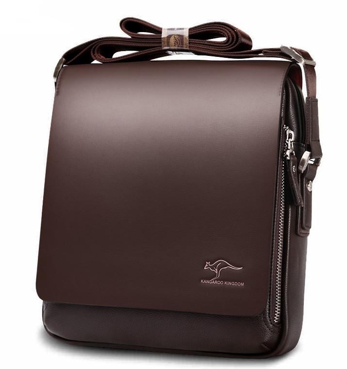 b167d413d883 Мужская сумка барсетка Kangaroo Kingdom 2 цвета коричневый - Интернет- магазин