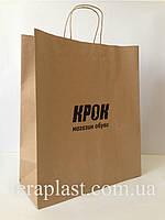 Пакет бумажный с печатью 320х150х380