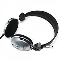 Гарнитура YIHAO YH-508 (silver-black) (микрофон ,3.5мм )