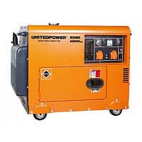Дизельный генератор однофазный Q-Power DG5500SE 5кВт 230В