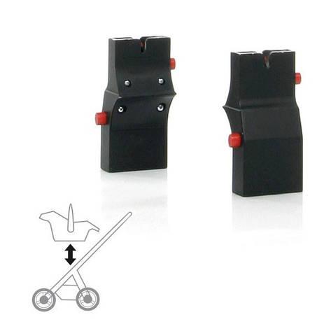 Адаптер для автокресла Risus к коляскам Turbo / Cobra / Mamba / Viper / Tec / Condor / Zoom / Salsa, фото 2