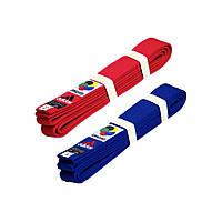 Пояс для кимоно Adidas серии ELITE WKF (Красный)
