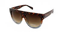 Солнцезащитные очки в роговой оправе  Celine