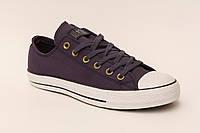 Кеды Converse  All Star Синие низкие подошва белая