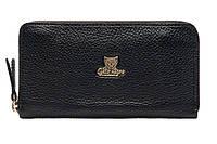 Мужской кожаный кошелёк-клатч Gato Negro Discovery Buffalo GN286 Black