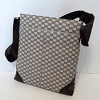 Городская мужская сумка планшетка 28х27х5 см барсетка