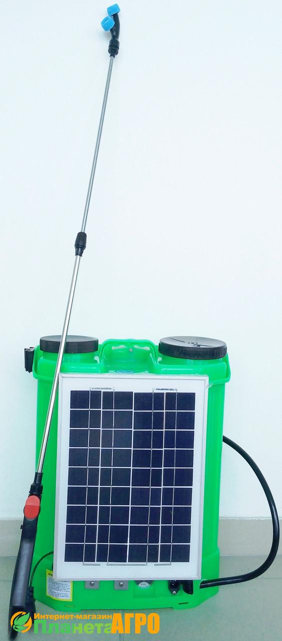 """Опрыскиватель аккумуляторный на солнечной батарее ZIRKA ОА-616С  - Агромагазин """"Планета Агро"""" в Мелитополе"""