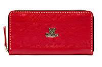 Женский кожаный кошелёк-клатч Gato Negro Discovery Buffalo GN285 Red