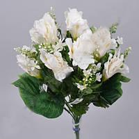 Букет белых ирисов с ромашками  45см Цветы искусственные