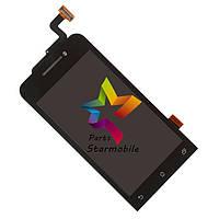 Дисплей для мобильного телефона Asus Zenfone 4/A400CG, черный, с тачскрином, ORIG