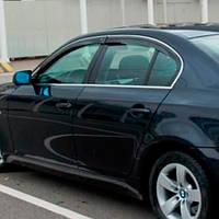 COBRA TUNING Дефлекторы окон на BMW 5 (E60) '03-10 СЕДАН (накладные)