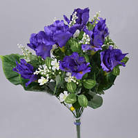 Букет ирисов с ромашками  45см Цветы искусственные