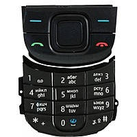 Клавиатура (кнопки) Nokia 3600 Slide черная