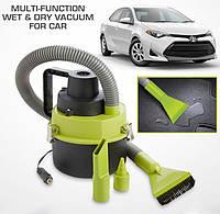 Автомобильный пылесос для сухой и влажной уборки The Blac Series