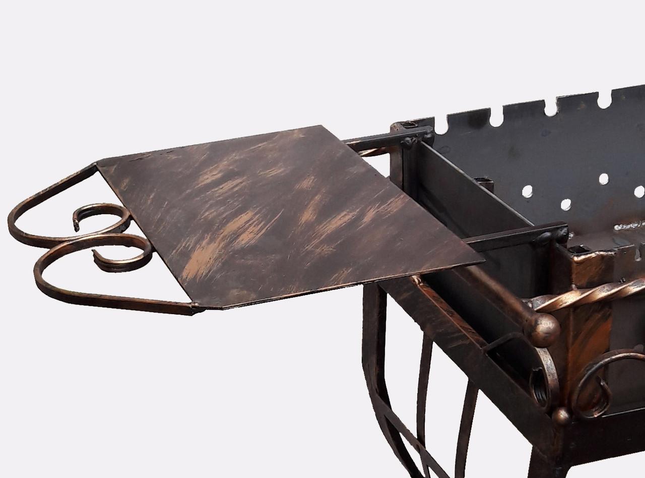 Столик на мангал (знімний) універсальний