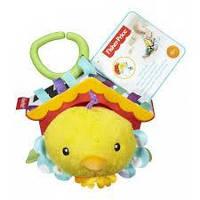 """Мягкая игрушка-подвеска """"Птенец в скворечники"""" Fisher-Price"""