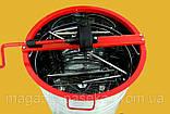 Медогонка с поворотом кассет  2-х рамочная (алюмоцинк), фото 2