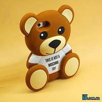 Чехол силиконовый 3d Teddy Bear Moschino на Iphone 6 PLUS