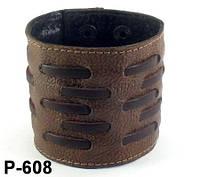 Браслет из натуральной кожи Р608