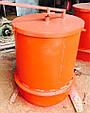 Фильтр для силоса цемента с ручным приводом KARMEL, фото 2
