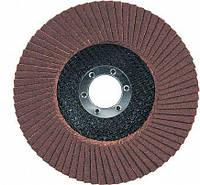 Лепестковый шлифовальный круг торцевой 125 х 22 T27 P100 Sprut-A