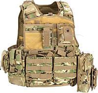 Жилет тактический Defcon5 Body Armour Full Set ц:multicam
