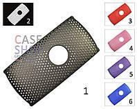 Пластиковый чехол в сеточку для Sony Ericsson U5 Vivaz