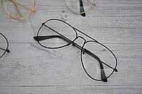 Имиджевые очки авиаторы капли унисекс, фото 1