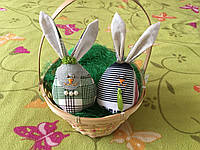 """Набор пасхальный """"Пасхальные кролики зайчики"""" он и она большие"""