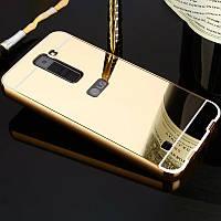 Чехол (бампер) для LG k10 k430 k410  - зеркальный